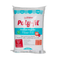 Poly-Fil Premium Fiber Fill 32 Ounce Bag White