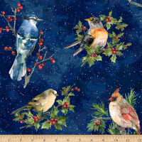 Hoffman Digital Winter Wonder Cardinals Midnight