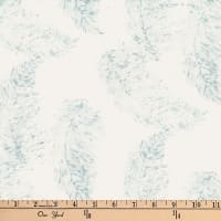Hoffman Bali Batik Feathers Ice Blue