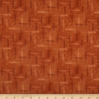Henry Glass Flannel Folk Art Flannels 4 Feathers Rust