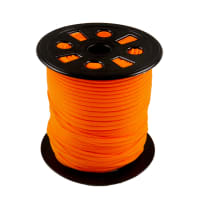 "Galaxy Notions Nylon Banded Stretch Elastic 0.1666"" 100yd Spool Orange"
