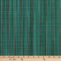 Highland Dobby Fine Line in Weft Teal