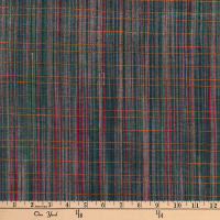 Highland Dobby Fine Line in Weft Blue