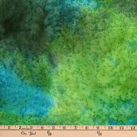 Monet Blender Texture Batik Aqua/Green
