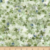 Michael Miller Fabrics Dreaming of Tuscany Packed Petals Green