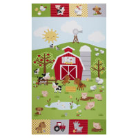 "Riley Blake Down On The Farm 24"" Panel"