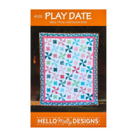 Riley Blake Hello Melly Play Date Quilt Pattern