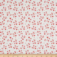Riley Blake From The Heart Flowers Cream