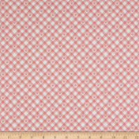 Riley Blake From The Heart Plaid Cream