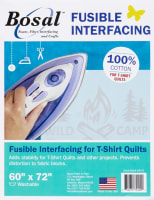 Bosal Fusible Interfacing for T-shirt Quilts