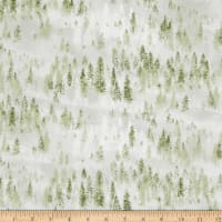 Northcott Lakeside Lodge Open Trees Pale Grey/Green