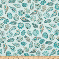 FIGO Sea Botanica Sea Shells Mint