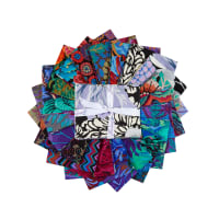 EXCLUSIVE Kaffe Fassett Collective Fat Quarters 20 pcs Dark