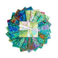 EXCLUSIVE Kaffe Fassett Collective Fat Quarters 20 pcs Green