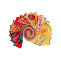 "EXCLUSIVE Kaffe Fassett Collective Design 2.5"" Roll 40 pcs Sun Up"