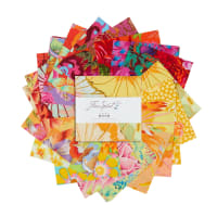 "EXCLUSIVE Kaffe Fassett Collective 5"" Charm Pack 42 pcs Sun Up"