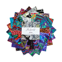 "EXCLUSIVE Kaffe Fassett Collective 5"" Charm Pack 42 pcs Dark"