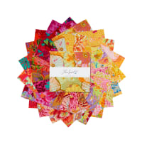 "EXCLUSIVE Kaffe Fassett Collective 10"" Charm Pack 42 pcs Sun Up"