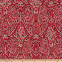 STOF France Valdrome Cachemire Broadcloth Rouge