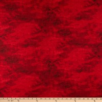 Wilmington Cabin Welcome Flannel Forest Texture Red