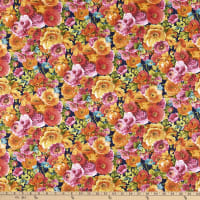 Wilmington Roots of Love Packed Florals Blue