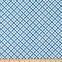 Wilmington Roots of Love Plaid Ivory/Blue