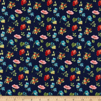 Wilmington Roots of Love Small Floral Blue