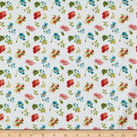 Wilmington Roots of Love Small Floral Ivory