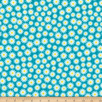 Contempo Planted With Love Daisy Turquoise