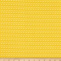 Contempo Planted With Love Tonal Slide Yellow