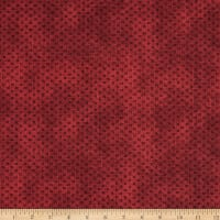 Benartex Color Traditions Stitches Red