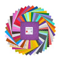 "Kanvas Color Theory 10"" Squares 42pcs Multi"