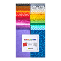 "Kanvas Color Theory 2.5"" Strip-Pies 40pcs Multi"