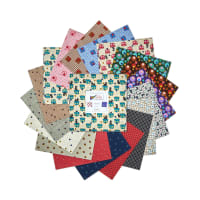"Benartex Lizzy Albright Attic Window 10"" Squares 42pcs Multi"