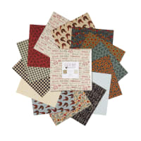 "Benartex Quilter Barn Prints 2 10"" Pack 42pcs"
