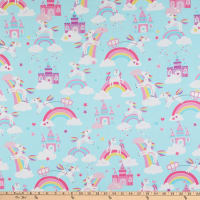 Kanvas Unicorn Magic Unicorn Dreams Aqua