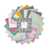 "Contempo Words To Quilt By 10"" Pack 42pcs Multi"