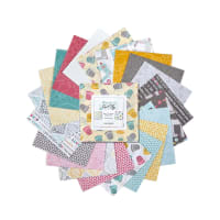 "Contempo Words To Quilt By 5"" Pack 42pcs Multi"