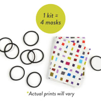 No-Sew Mask Kit (Makes 4)
