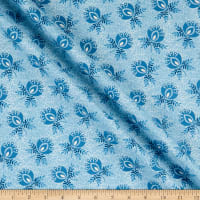 Andover Perfect Union Boutonniere Blue Frost