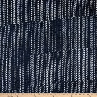 Andover Stitched Running Stitch Charcoal