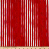 Andover Very Merry Stripe Red