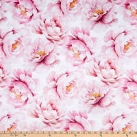 Shannon Studio Digital Minky Cuddle Print Petal Dusty Rose