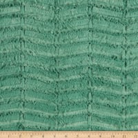 Shannon Minky Luxe Cuddle Oxford Basil