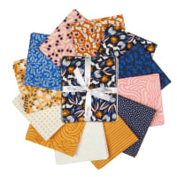 Felicity Fabrics Honey Blossom Indigo Fatties 12pcs