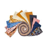 "Felicity Fabrics Honey Blossom Indigo 2.5"" Skinnies 40pcs"