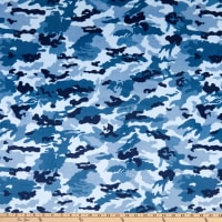 Shannon Studio Digital Minky Cuddle Mini Camo Airman