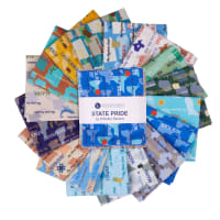 Whistler Studios State Pride Fat Quarter Bundle 16pcs Multi