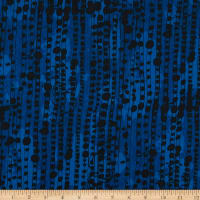 Windham Fabrics The Blue One Dot Dot Dot Black Rock Blue
