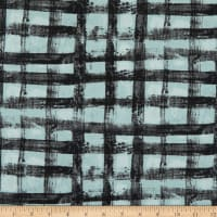 Windham Fabrics The Blue One Plaid Frost Blue